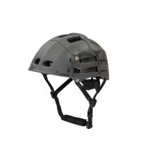 Overade Plixi Fit Helm faltbarer Fahrradhelm L/XL 59-62 cm grau