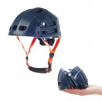 Overade Plixi Fit Helm faltbarer Fahrradhelm S/M 54-58 cm blau