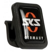 SKS Strebenclip USC Clip Strebenhalter für Schutzblech schwarz-orange