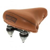 BRN Sattel Amarcord Pigna 22,2mm Durchmesser inkl Kloben braun