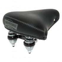 BRN Sattel Amarcord Pigna 22,2mm Durchmesser inkl Kloben schwarz