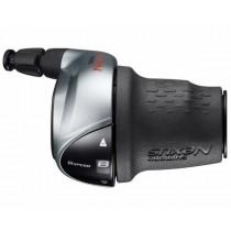 Shimano Nexus SL-C6000 Drehgriffschaltung 8 Gang CJ-8S40 Revoshift silber