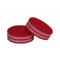SAMURAI BAR TAPE TONO - Lenkerband Lenkertape Fahrradband rot-weiß red-white