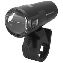 Axa Fahrradlampe Compactline 20 LUX USB Frontlicht Akkulicht schwarz