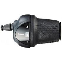Shimano Nexus Drehgriffschalter 7Gang CJNX10 SLC3007 inkl. Zug Hülle Schraube