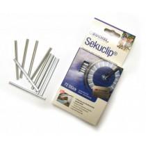 Büchel Speichenstrahler Sekuclip für Speichen 72er Pack silber clipbar