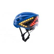Lumos Fahrradhelm LED Helm Blinker Warnlicht Licht Remote blau cobalt blue
