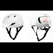 Lumos Street LED Helm Licht Blinker Warnlicht jet white weiß 54-61cm