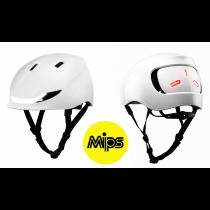 Lumos Street MIPS LED Helm Licht Blinker Warnlicht jet white 54-61cm