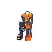 Bellelli B-ONE Kindersitz Montage an Rahmen bis 22 kg grau orange