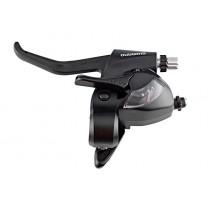 Shimano Schalt-/Bremshebel ST-EF41 2 Finger links 3fach schwarz EZ-Fire Plus
