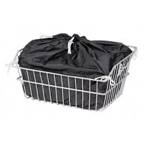 Unix Korbeinlage schwarz Einlage für Gepäckkörbe Lenkerkörbe 40x30x17cm
