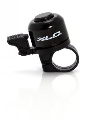 XLC Fahrradklingel Miniglocke DD-M01 schwarz extra lauter heller Klang