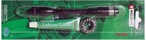 Weldtite VR Hohlachse für Schnellspanner M9 x 108mm inkl. Kugelringe Konen