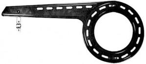 Horn Kettenschutz SK24/1 bis 46 Zähne 220mm Kunststoff einflügelig