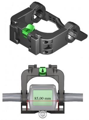 MTS3 Löhr E-Bike Lenker Adapter 22-31.8mm für mittige Displays