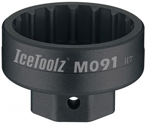 IceToolz Innenlager Abzieher Campagnolo Ultra-torque Hollowtech II Truvativ Howitzer