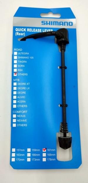 Shimano Schnellspanner für FHTY500 HR Nabe 161mm komplett mit Mutter & Federn
